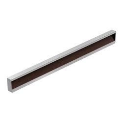 ZEN DESIGN - Zetta Handle Profile, Aluminum - Unique, Elegant, modern Decorative Cabinet Hardware Collection