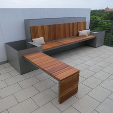 Contemporary Porch by Sarabi Studio