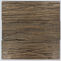 GlassTileStore - Terrene Copper Beech 4x12 Glass Tile - TERRENE COOPER BEECH 4X12 GLASS TILE  This striking glass can make any room atheistically appealing. The wavy finish brings a distinctive design and will add a nice touch for a contemporary and modern room. This tile is great to use for the bathroom, kitchen or pool installation.      Chip Size: 4X12   Material: Glass   Color: Metallic Cooper    Finish: Polish   Sold by the Square Foot             - Glass Tiles -