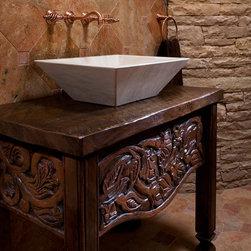 Custom Wood Carving - Kate Russell