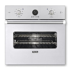 "Viking 27"" Single Electric Wall Oven, White 