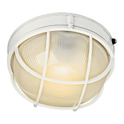 Kichler - Kichler No Family Association Outdoor Wall Mount Light Fixture in White - Shown in picture: Outdoor Sconce 1Lt Fluorescent in White