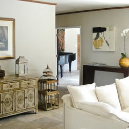 Residential Project 2 - Furniture and accessories from MIX Furniture give this contemporary home an eclectic, global feel.