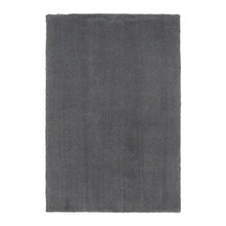 """Bliss 1565 Slate Rug - When you feel the heavenly touch of the Bliss Shag Rugs, you'll see why they are aptly named. Hand-woven in China from a super-soft polyester/acrylic blend, these 1"""" thick area rugs feature a luxurious shag texture that is simply amazing."""