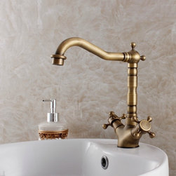 Antique Basin Faucet Bathroom Sink Faucets MBSK004 - antique brass faucet, antique faucet, basin faucet, bath faucet, bath sink faucet, bathroom faucet, bathroom faucet, bathroom sink faucet, bathroom sink faucets, brushed brass faucet, dragon faucet, faucet, faucet bathroom, faucet for bathroom, faucets, free shipping faucet, kitchen faucet, sink faucet, water faucet, waterfall faucet