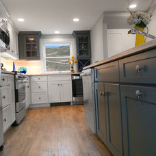 Beach Style Kitchen by Renovisions, inc.