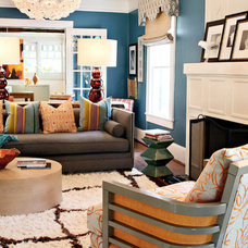 Contemporary Living Room by Lucy and Company
