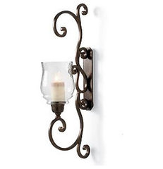 traditional outdoor lighting by Grandin Road