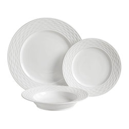 Luigi Bormioli - Luigi Bormioli Gusto 12 pc. Dinnerware Set Multicolor - HD32052 - Shop for Sets from Hayneedle.com! Elegant durable dinnerware for dinnertime is served with this Luigi Bormioli Gusto 12 pc. Dinnerware Set. Whether you re hosting a dinner party with friends or preparing a meal for the family the set provides materials for three courses featuring four dinner plates four dessert plates and four soup bowls. The dinnerware combines the best advantages of bone china and porcelain featuring both a high thermal and a high fracture resistance rating. The material is also less porous than porcelain or bone china by itself making it easy to clean resistant to stains and very hygienic.About Luigi BormioliFounded in 1946 by Mr. Luigi Bormioli himself the Bormioli family continues Luigi s mission of commitment to great design traditional Italian craftsmanship and new innovative glassmaking technology to produce the world s most beautiful and durable glassware. Producers of wine glasses tumblers decanters and everything in between Luigi Bormioli is located in Parma Italy halfway between Bologna and Milan and is influenced by the region s reputation for art music and higher learning. Bormioli s glassmaking construction rivals fine crystal in its appearance but is 100-percent lead-free affordable and widely available.