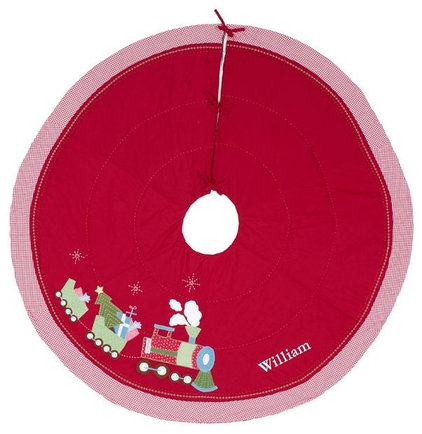 Contemporary Christmas Tree Skirts by Pottery Barn Kids