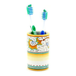 Artistica - Hand Made in Italy - Perugino: Toothbrush Tumbler - Artistica's Exclusive!
