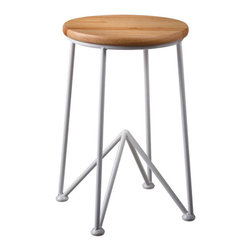 Get to the Point Stool - This angular stool will keep you headed in the right direction. Take a cue and grab a seat. Then enjoy a warm pancake breakfast as the sun rises.
