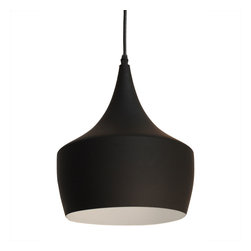 Bromi Design - Bromi Design Berkley Black Single Light Pendant B6001 - Berkley Black Single Light Pendant B6001