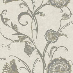 Bainbridge Abstract Floral Wallpaper from Brewster - Pattern number: 287-90006