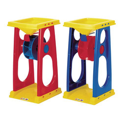 """The Original Toy Company - The Original Toy Company Kids Children Play Sand/Water Wheel - Pour sand and water through the adjustable size funnel, great activity item for hours of imaginative play. Price listed is for qty 1 (6"""" width x 12"""" height). Age: 2 years plus."""