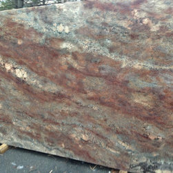 FAIRFAX MARBLE & GRANITE - GRANITE INVENTORY - OCEANIC BORDEAUX (new arrival) - MADE IN ITALY