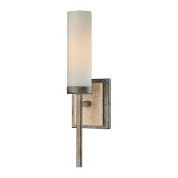"MinMinka Compositions Collection 15 1/4"" High Wall Sconce - These are modern and interesting.  I want to see them in a slightly rustic, cabin-y bathroom. City meets country.  Word."