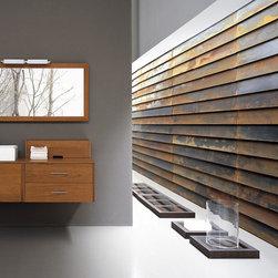 "Modern Bathroom Vanity Set - Mojave II, 45.67""L -"