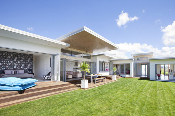 Modern Exterior by Creative Space Architectural Design
