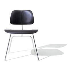 Eames Molded Plywood Metal Leg Dining Chair by Herman Miller
