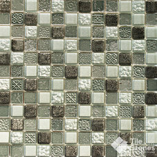 Contemporary Mosaic Tile by Tile-Stones