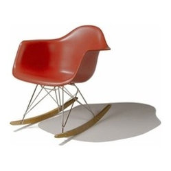 Herman Miller | Eames® Molded Plastic Rocker Chair