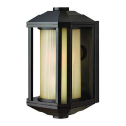Hinkley Lighting - Hinkley Lighting 1396BZ Single Light Ambient Lighting Small Outdoor Wall Sconce - Hinkley 1396BZ Single Light Small Outdoor Wall Sconce from the Castelle Collection