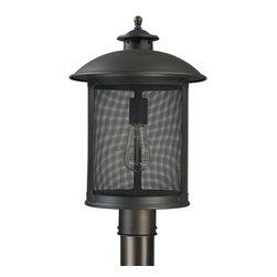 Capital Lighting - Capital Lighting Dylan Transitional Outdoor Post Lantern X-BO5169 - Capital Lighting Dylan Transitional Outdoor Post Lantern X-BO5169