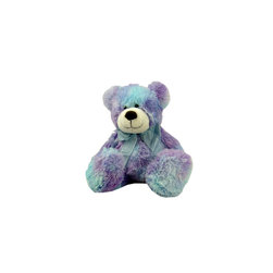 Lava - Bean Bag Bear Tie Dye Blue - 100% polyester cover. Polyester and Polystyrene bead fill.