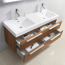 Double Wide Bathroom Sink : 54 inch Double Sink Plum Bathroom Vanity - When you go shopping for ...