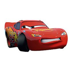 Fathead LLC - Disney Cars Mcqueen 3pc Large Wall Accent Stickers Set - FEATURES: