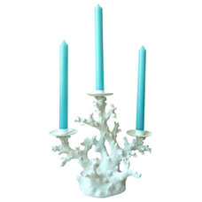 Tropical Candles And Candle Holders by Design Darling