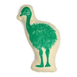 Ross Menuez Ostrich Pico Pillow - Ross Menuez Ostrich Pico Pillow