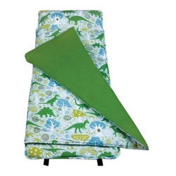 Wildkin Dinomite Dinosaurs Nap Mat - The Wildkin Dinomite Dinosaurs Nap Mat is the perfect spot for your little T-rex to recover when they're tuckered out. An attached blanket and the included storage bag and pillow add dino-sized convenience.About WildkinUnpacking the world of children's luggage, Wildkin offers a wide collection of outrageously fun and fantastically practical bags, backpacks, mats, sleeping bags, and more. Each Wildkin piece is available in over 30 unique patterns so parents can be sure to match individual tastes with personalized designs. As safe as they are dynamic, all Wildkin products are crafted with durable, kid-safe materials and tested to ensure the highest quality.