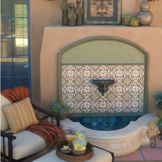 Mediterranean Patio by Danielle Jacques Designs LLC