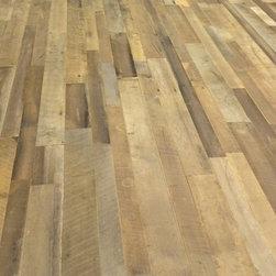 Reclaimed Wood Floors - Reclaimed mixed hard wood flooring. 949-637-2992 www.trueamericangrain.com