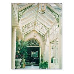 Glazed Link Skylight Hallway -