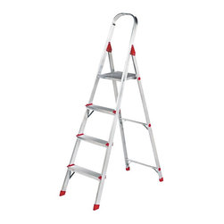 Louisville - Louisville 4 ft. Aluminum Euro Platform Ladder Multicolor - DADL234604 - Shop for Ladders from Hayneedle.com! The Louisville 4 ft. Aluminum Euro Platform Ladder features an all-aluminum construction with a locking platform and top safety rail. Serrated steps and slip-resistant foot caps add additional safety and security. Ideal for home office or jobsite use.About Louisville LadderSince 1946 Louisville Ladder has been a leader in ladder manufacturing and distribution. Through innovation and invention Louisville has become a world-wide name with many of its products being the first of their kind. Today Louisville continues to develop market and distribute the highest quality products with a strong distribution presence in the US and Canada.