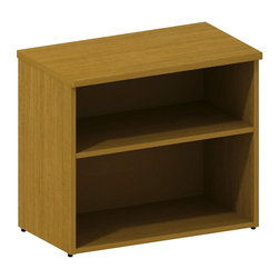 """Bush - Bush 300 Series Lower Bookcase Cabinet in Modern Cherry - Bush - Bookcases - 300SBK302MC - With simple elegance as its foundation Bush Modern Cherry Series 30""""""""W Lower Bookcase Cabinet single adjustable shelf makes space go further. Bookcase depth accommodates binders business manuals books photos plants knickknacks or other decorative items. Perfect for side-by-side placement with other 300 Series Pieces. Available in multiple finishes. Includes Bush Limited Lifetime warranty."""