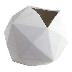 Cyan Design - Astronomical Vase, Large - Large astronomical vase - matte white
