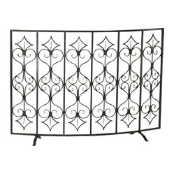 Casablanca Fire Screen