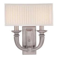 Hudson Valley Lighting - Hudson Valley Lighting 542-HN Pheonicia 2 Light Wall Sconces in Historic Nickel - This 2 light Wall Sconce from the Pheonicia collection by Hudson Valley Lighting will enhance your home with a perfect mix of form and function. The features include a Historic Nickel finish applied by experts. This item qualifies for free shipping!