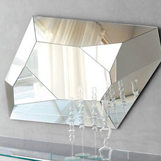 Modern Makeup Mirrors Diamond Wall Mirror By Cattelan Italia