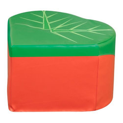 Kalokids - Kalokids Back to Nature Caterpillar Quadrant Pouf Multicolor - SP0373-US - Shop for Ottoman & Footstools from Hayneedle.com! Ideal for resting tired feet the Kalokids Back to Nature Caterpillar Quadrant Pouf is a fun addition to any modular seating arrangement. The wedged 90-degree interior angle allows for four pieces to fit perfectly to create a large ottoman that can be shared or used to rest large picture books for sharing. The durable vinyl upholstery easily wipes clean and the simple design provides ergonomic support to both kids and adults. About KalokidsKalokids mission is creating practical innovative products for the growth and development of children's minds bodies and overall sense of well-being. Their stringent quality standards have been internationally recognized and they are continuously improving processes to enhance the final product as well as customer satisfaction. They utilize their in-house design team to react quickly to consumer demands and evolving markets. Every aspect of each design is carried out by their team. Kalokids designers work closely with team members who research the market to bring the latest concepts to fruition.