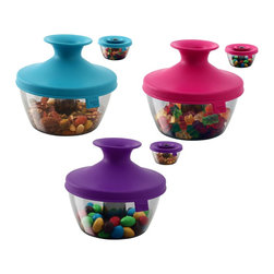 Vacu Vin Inc. - Vacu Vin Inc. PopSome Candy and Nut Dispenser (6 Pack) (2840050) - Vacu Vin Inc. 2840050 PopSome Candy & Nut Dispenser (6 Pack) (6 Pack)