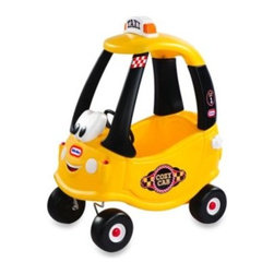Little Tikes - Little Tikes Cozy Coupe Cab - Based off original Cozy Coupe design, this cute cab features a friendly character face, rooftop light bar with changing messages and fun taxi sounds. It will provide your little driver with lots of fun, too.