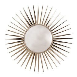 Arteriors Home - Astro Convex Iron Mirror - 3275 - Astro Collection Mirror