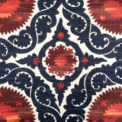 More Rockin' Pattern Carpet Tile - This bold pattern reminds me of tiles used in the Mediterranean and beyond. Bonus? These are much more affordable to ship than the real deal!