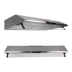 "WindMax - 27.5"" Stainless Steel Under Cabinet 500 CFM Kitchen Range Hood Stove - * Stainless Steel Under Cabinet Range Hood Kitchen Wall Mount"