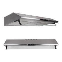 "WindMax - 27.5"" Stainless Steel Under Cabinet 500 CFM Kitchen Range Hood Stove - * Stainless Steel Under Cabinet Range Hood Kitchen Wall Mount"